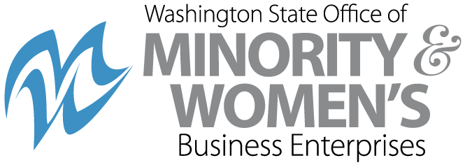 logo for the washington state office of minority a