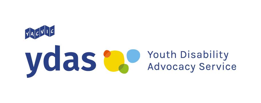 YDAS Logo: Next to dark blue, lowercase letters y
