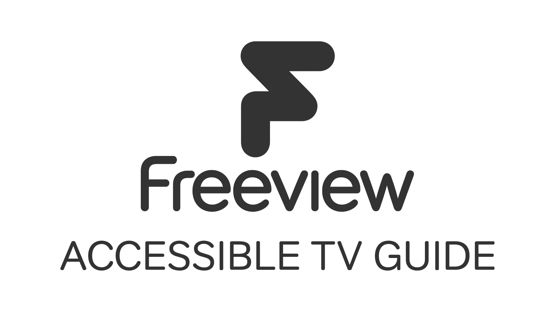 Freeview Accessible TV Guide logo