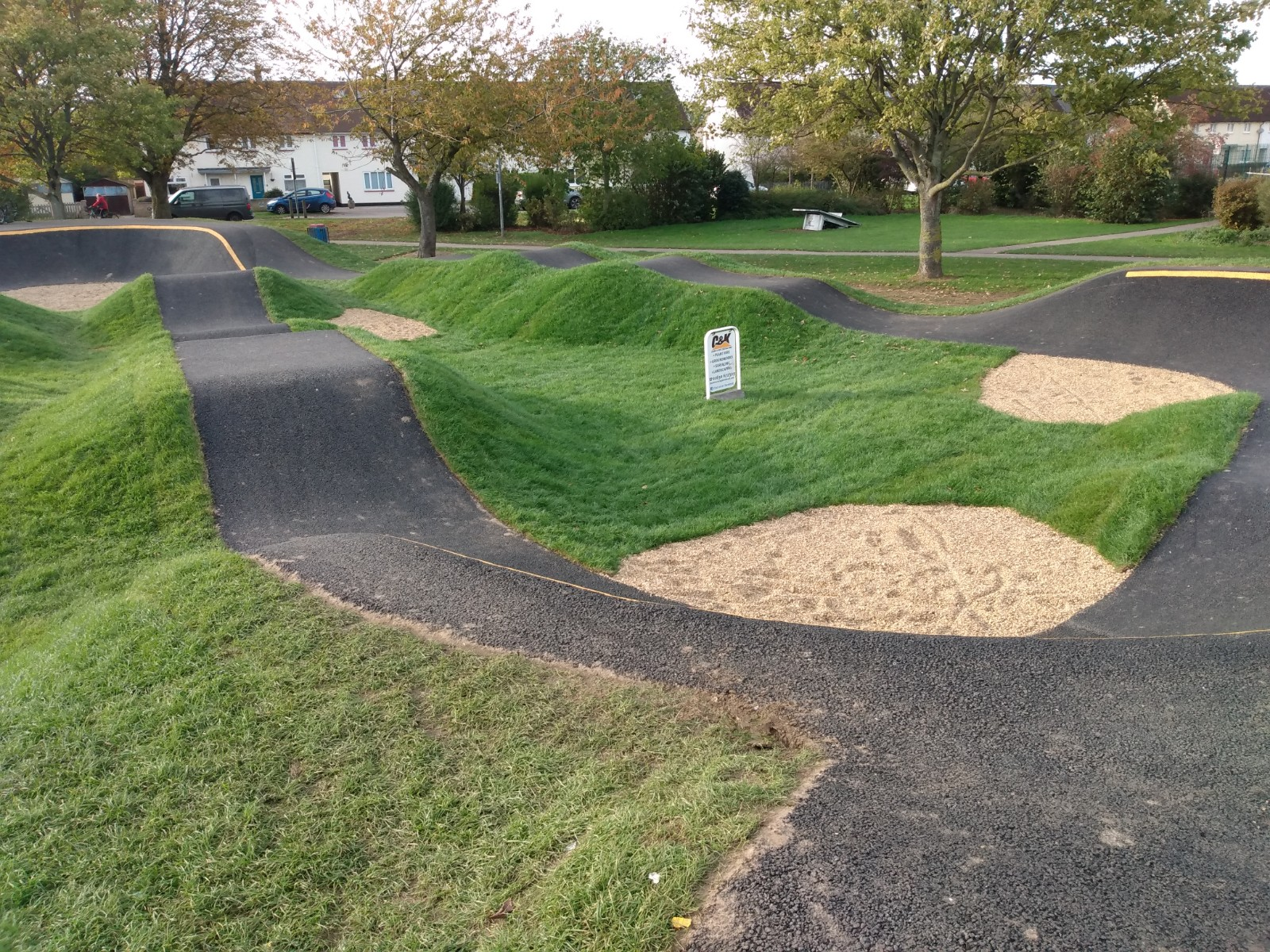 Example of a similar facility to that proposed for Chesterton Recreation Ground.