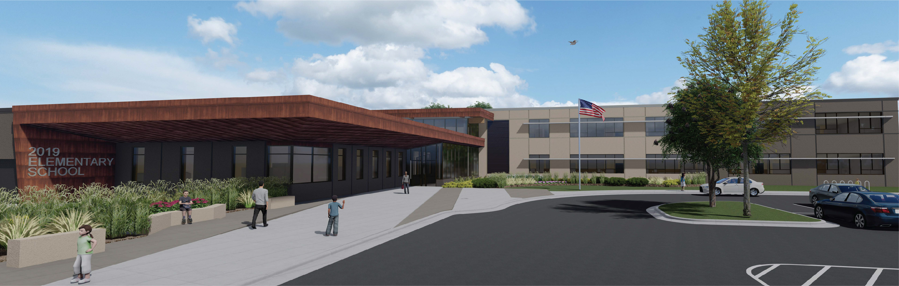 Rendering of the NW Elementary School