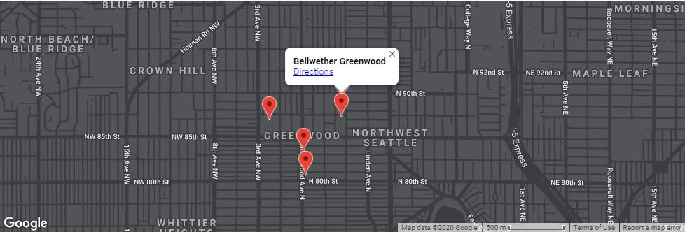 Development Location Map