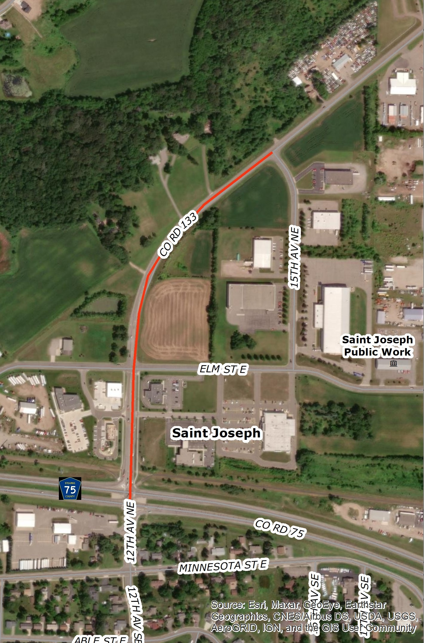 Stearns County CSAH 133 Expansion Project 073-733-006