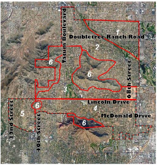 <strong>Areas of Paradise Valley</strong>