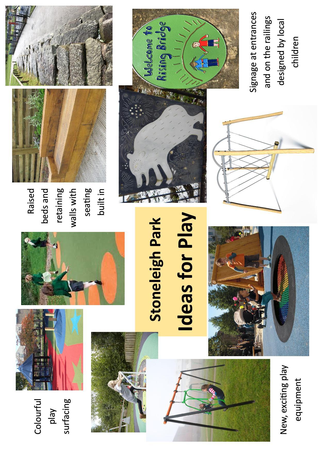 Stoneleigh Park Play Area Ideas
