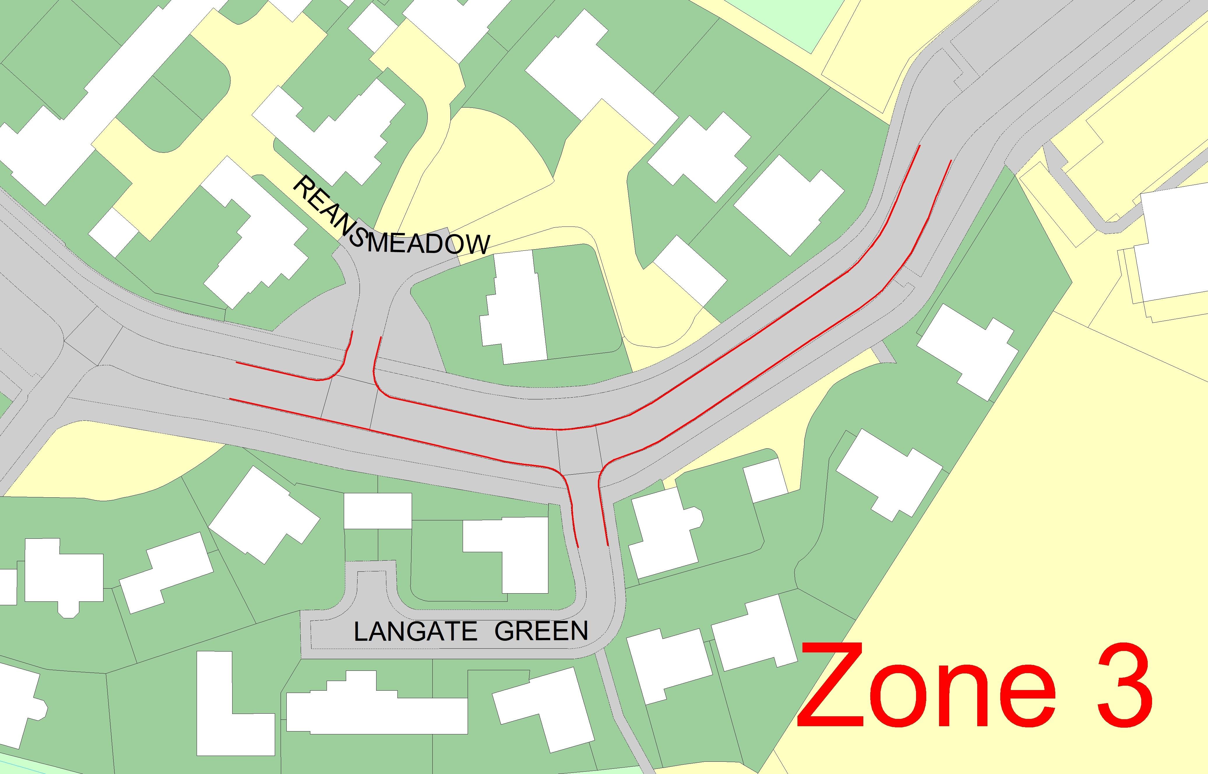 Zone 3 - School Lane