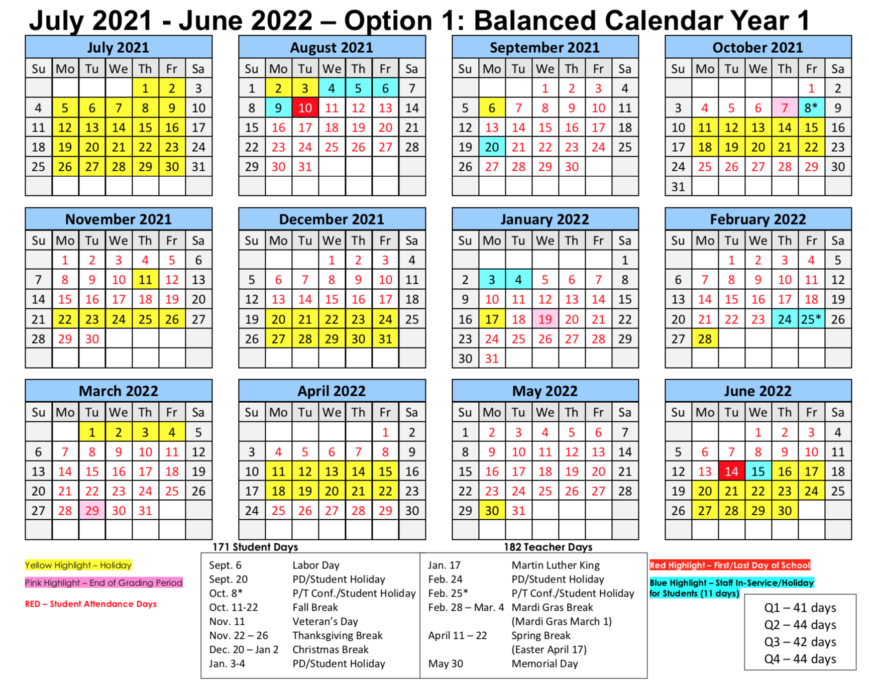 "<div style=""text-align: center;""><span style=""font-size: 18pt;"">Option 1: Balanced Calendar Year 1 - <br>To download the full 3-year balanced calendar, click <a href=""https://tinyurl.com/RPSBBalancedCalendar"" rel=""nofollow"" target=""_blank"">https://tinyurl.com/RPSBBalancedCalendar</a></span></div>"
