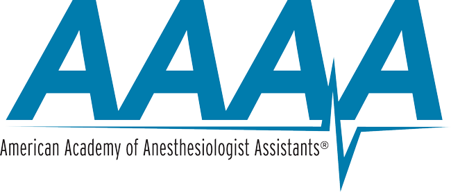 American Academy of Anesthesiologist Assistants Lo