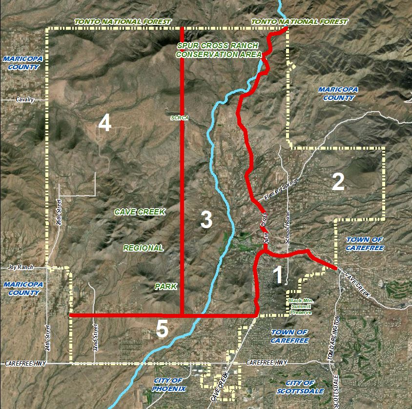 <strong>Areas of Cave Creek</strong>