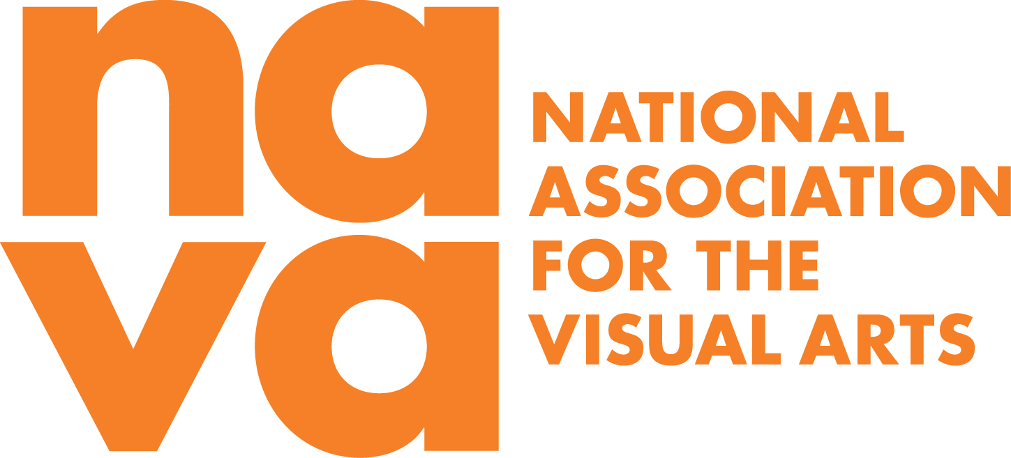 Full NAVA logo in orange. Large lowercase na at th