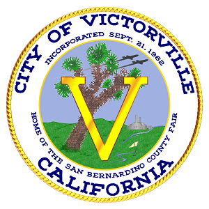 Image of the City of Victorville logo