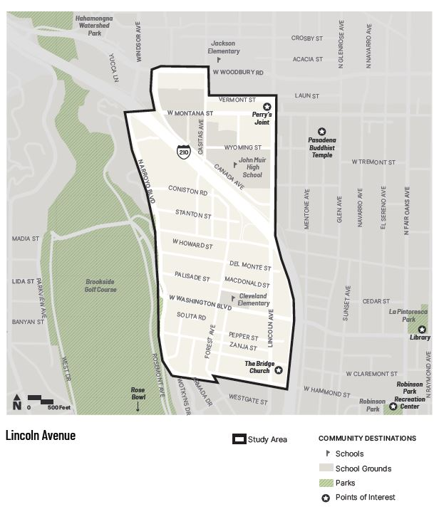 """Questions throughout this survey will ask about your relationship to and experience in the Lincoln Avenue neighborhood, which is shown in the map below. <a href=""""https://www.google.com/maps/d/edit?mid=1aFFgcSaBv8cY0t14OJRiHYBEyqzbvUSM&amp;usp=sharing"""" rel=""""nofollow"""" target=""""_blank"""">Click here to view the area in Google Maps.</a>"""