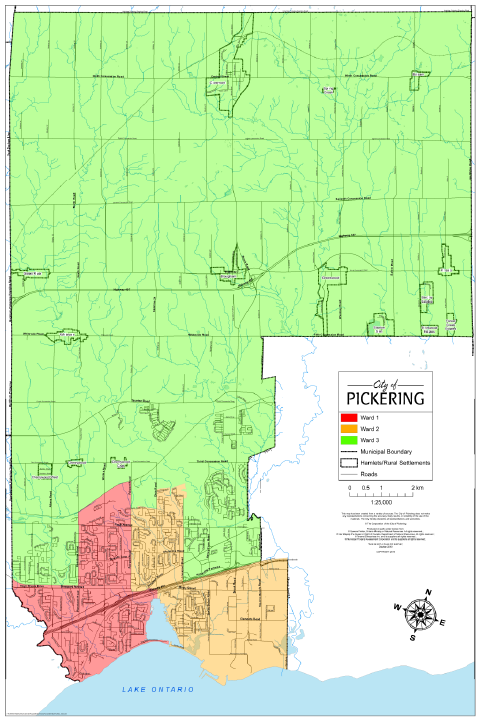 Existing Ward Map