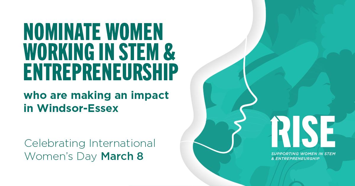 Nominate women working in STEM and entrepreneurshi