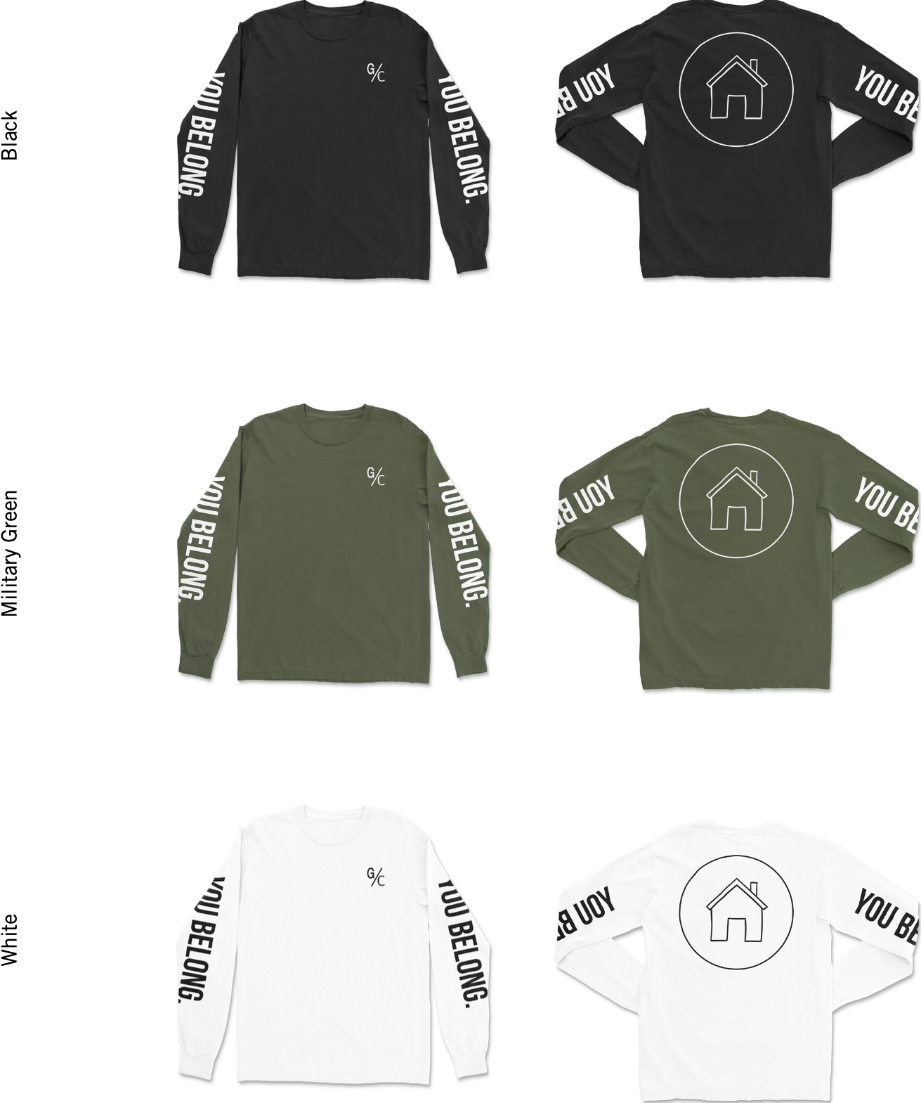 Don't miss out on a G/C Sweatshirt