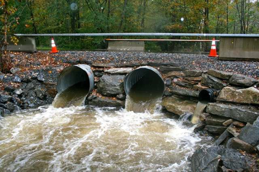 New larger culverts at Walker Brook in Becket
