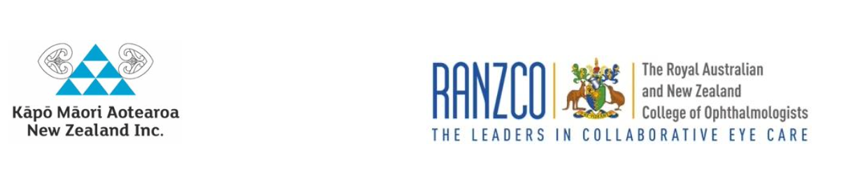 Kāpō Māori Aotearoa & RANZCO Logos