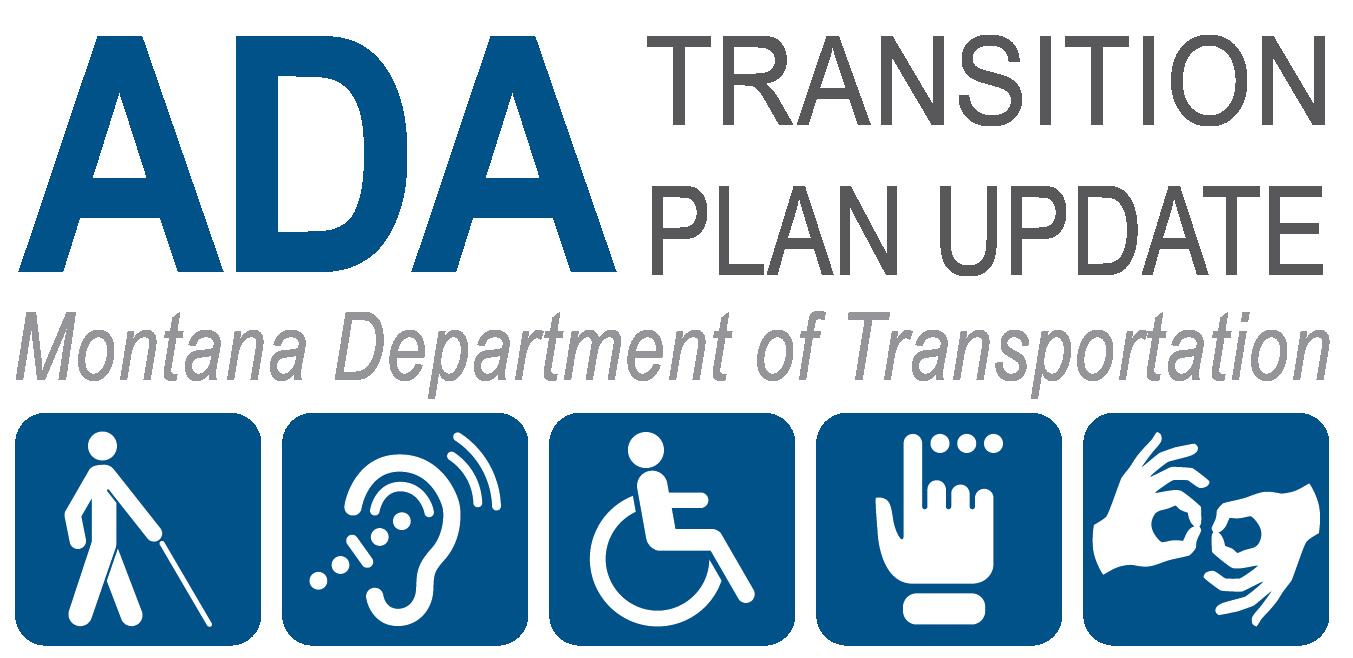 Logo for the MDT ADA Transition Plan Update