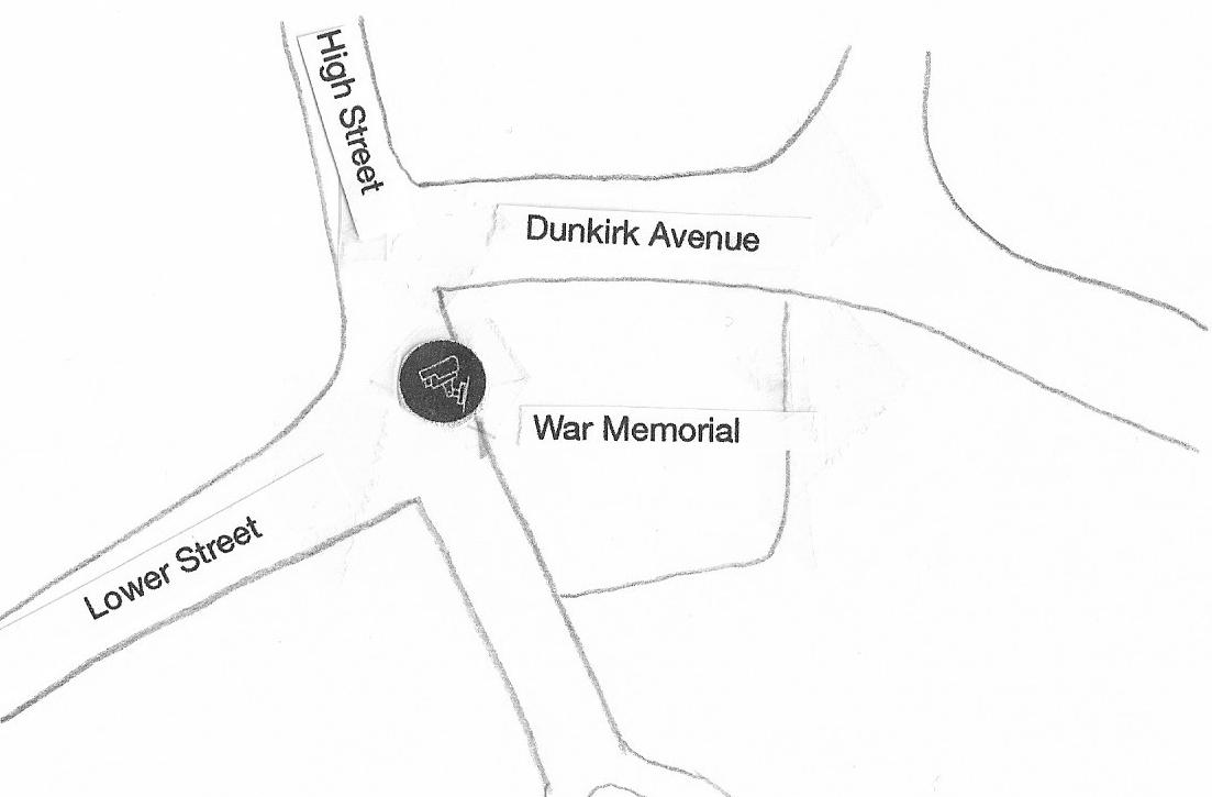 Lower Street near War Memorial gardens