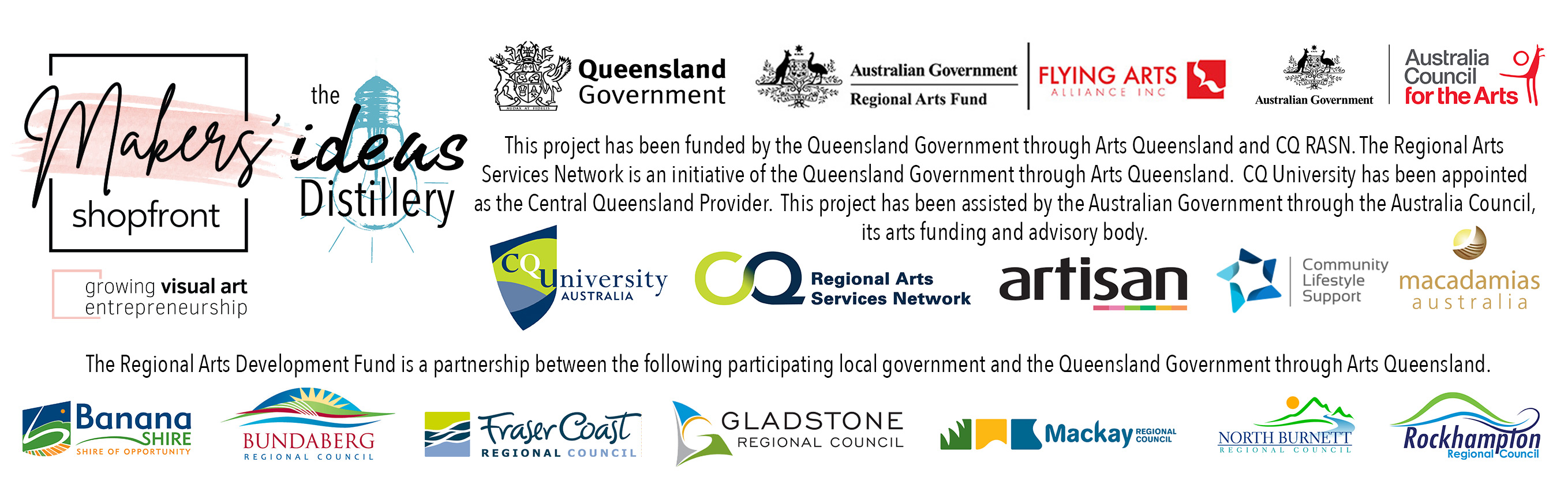 With thanks to our project partners...