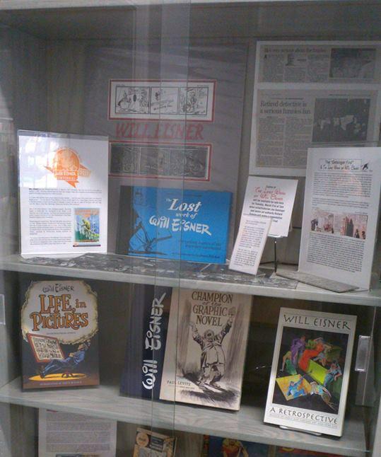 Will Eisner Week Library Display