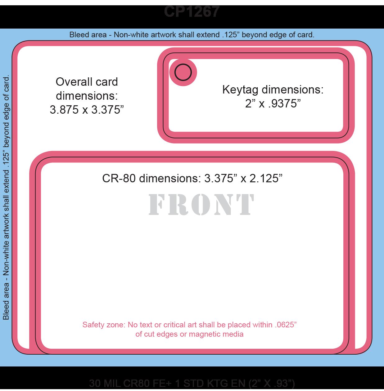 Card+Keytag Stacked (5,000 minimum)