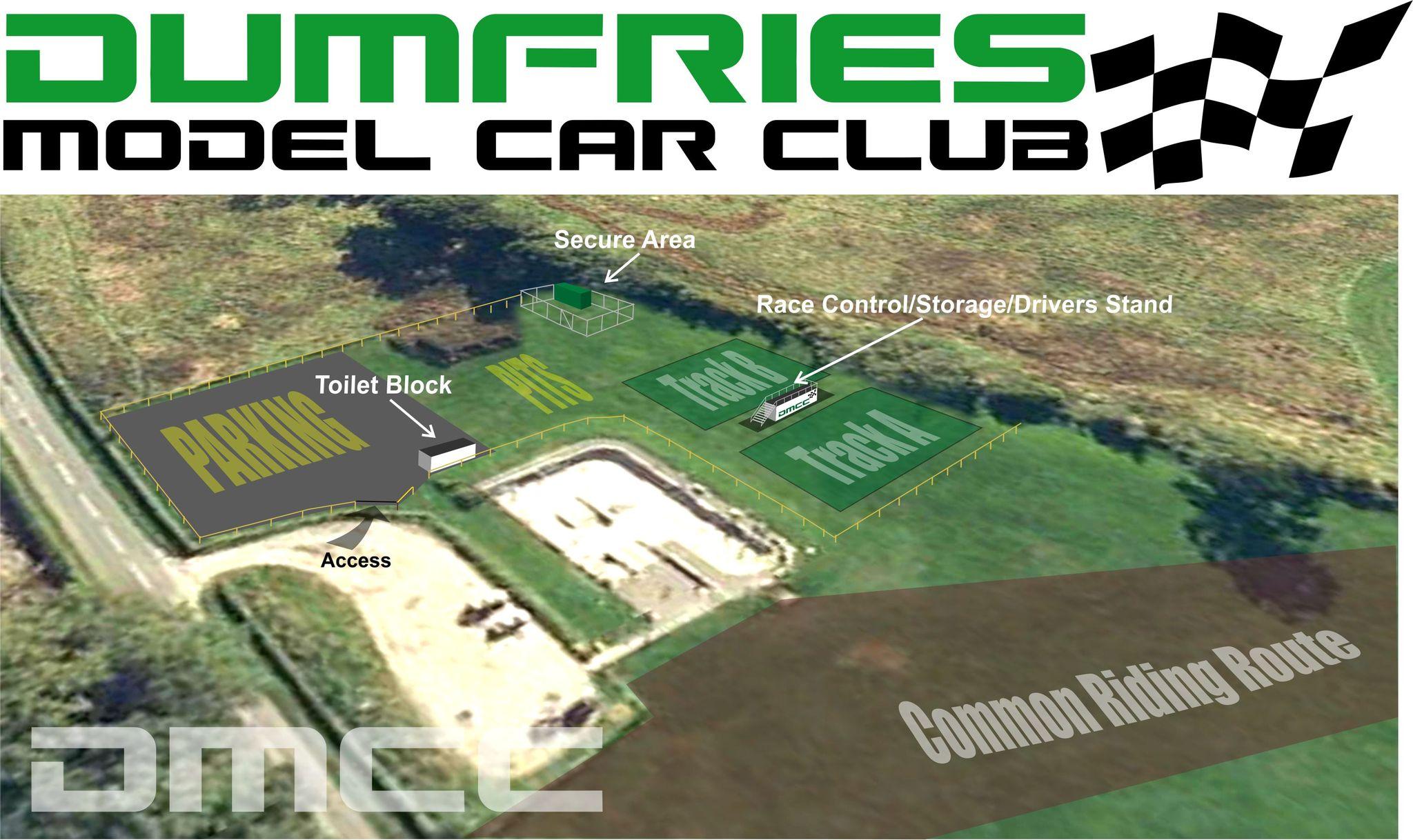 Dumfries Model Car Club Logo