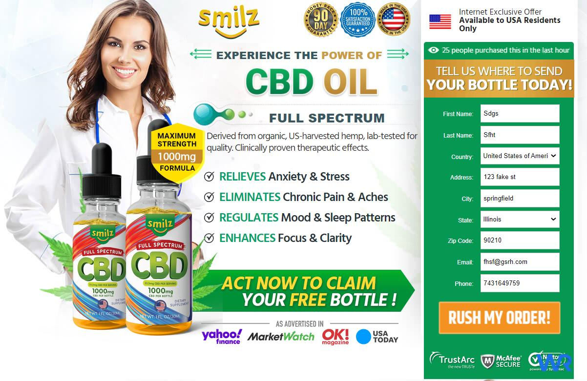 Smilz CBD Oil