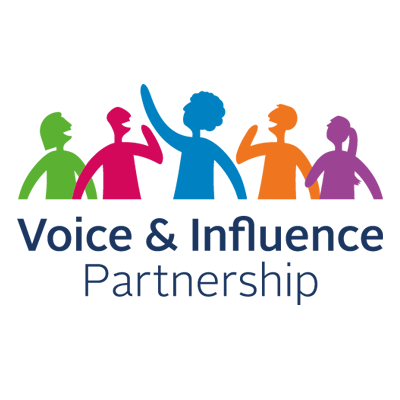 Voice and Influence Partnership logo showing an il
