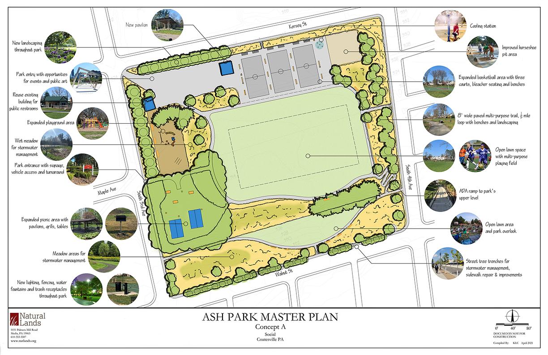 Ash Park Concept A - Social
