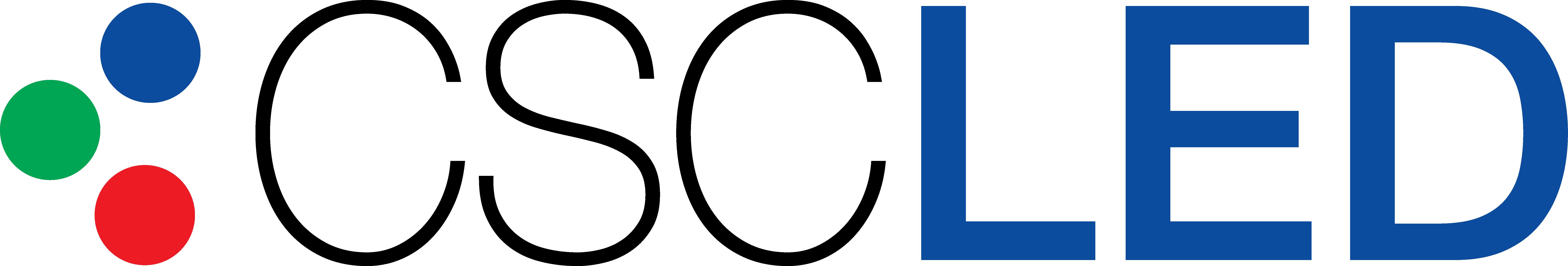 CSC LED Logo