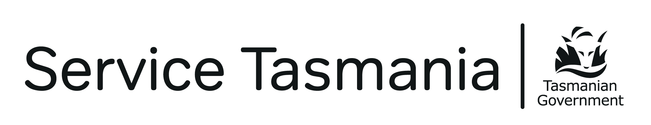 Service Tasmania and Tasmanian Government logos