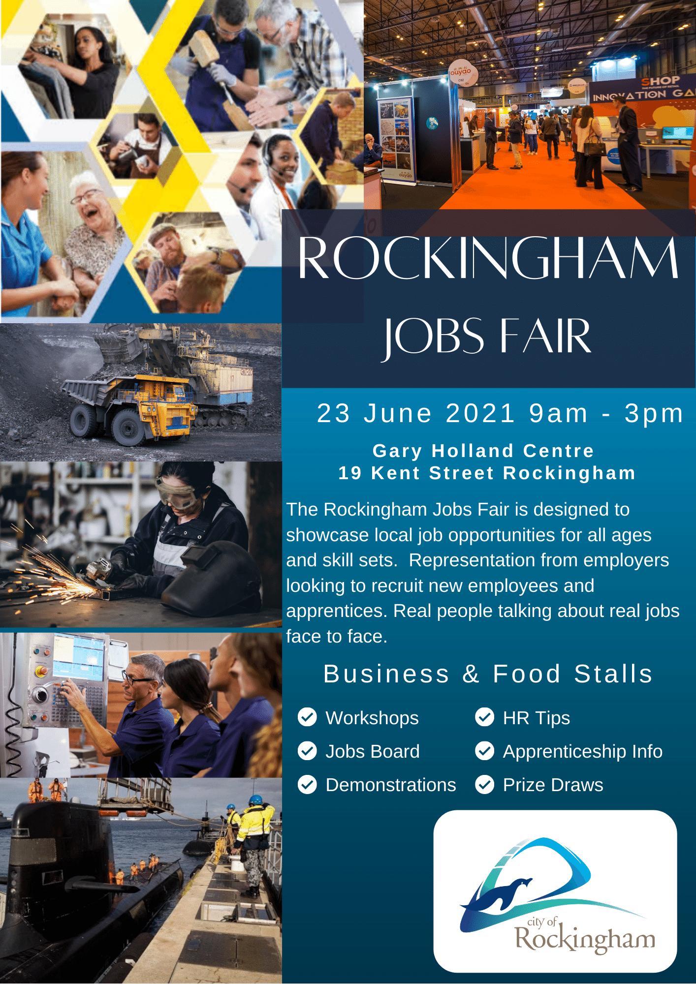 Rockingham Jobs Fair Stallholder Registration form