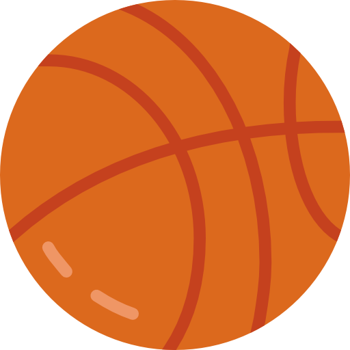 ball that you shoot into a hoop