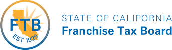 Logo for State of California Franchise Tax Board