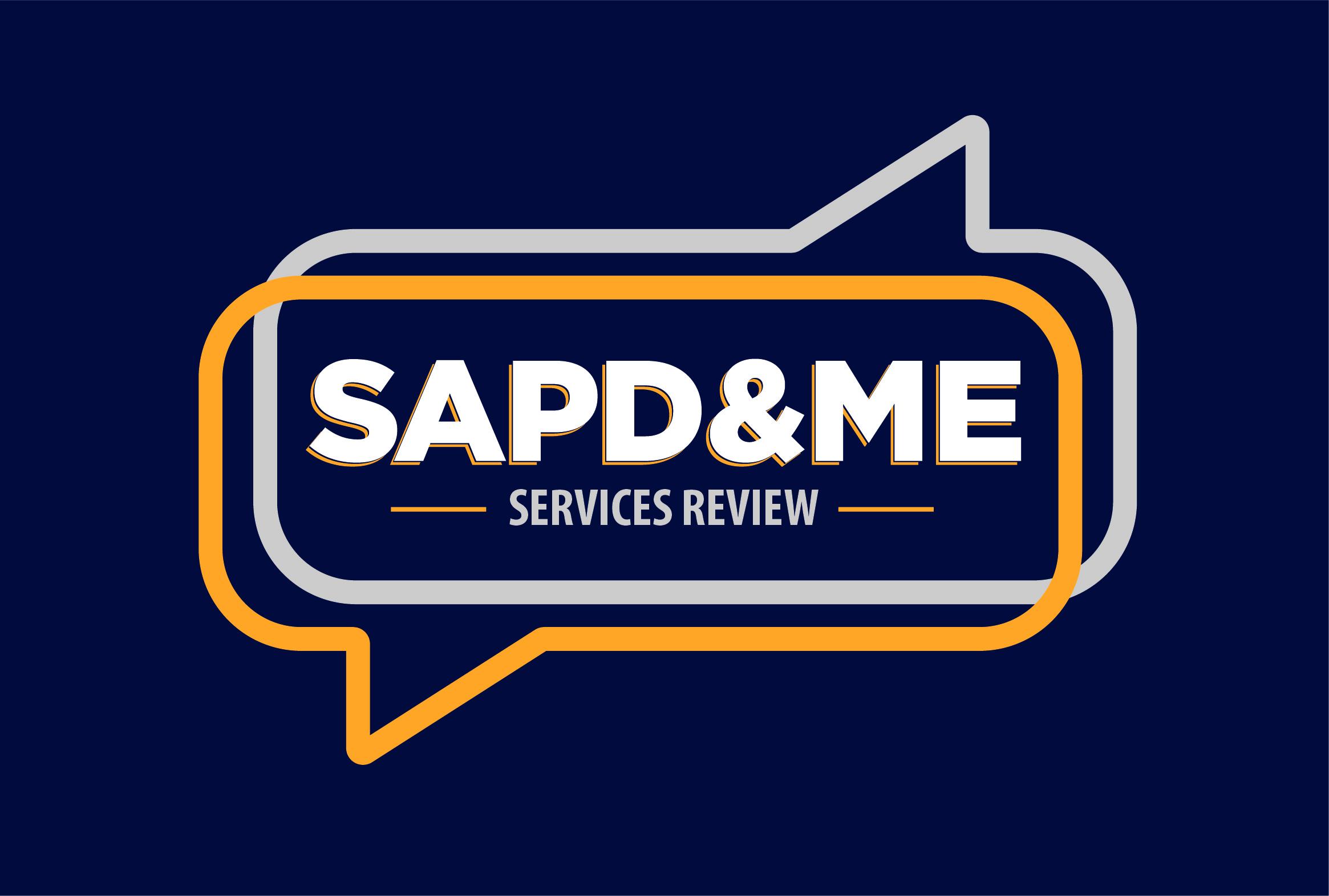 SAPD and Me logo