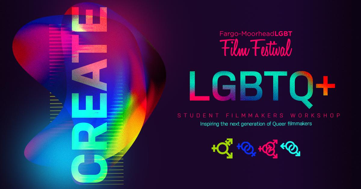 LGBTQ+ Filmmakers Workshop Logo