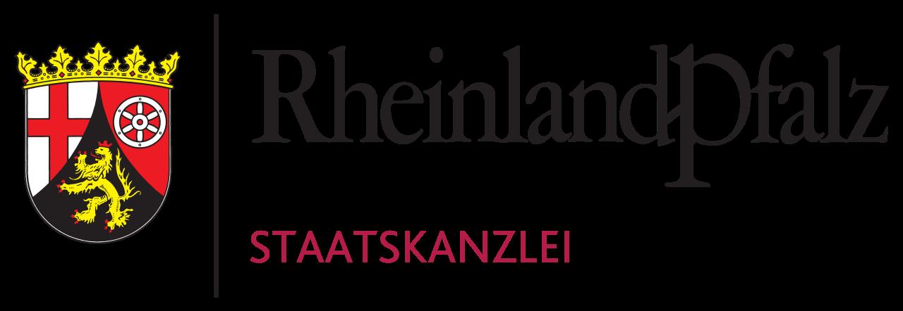 Logo der Staatskanzlei RLP