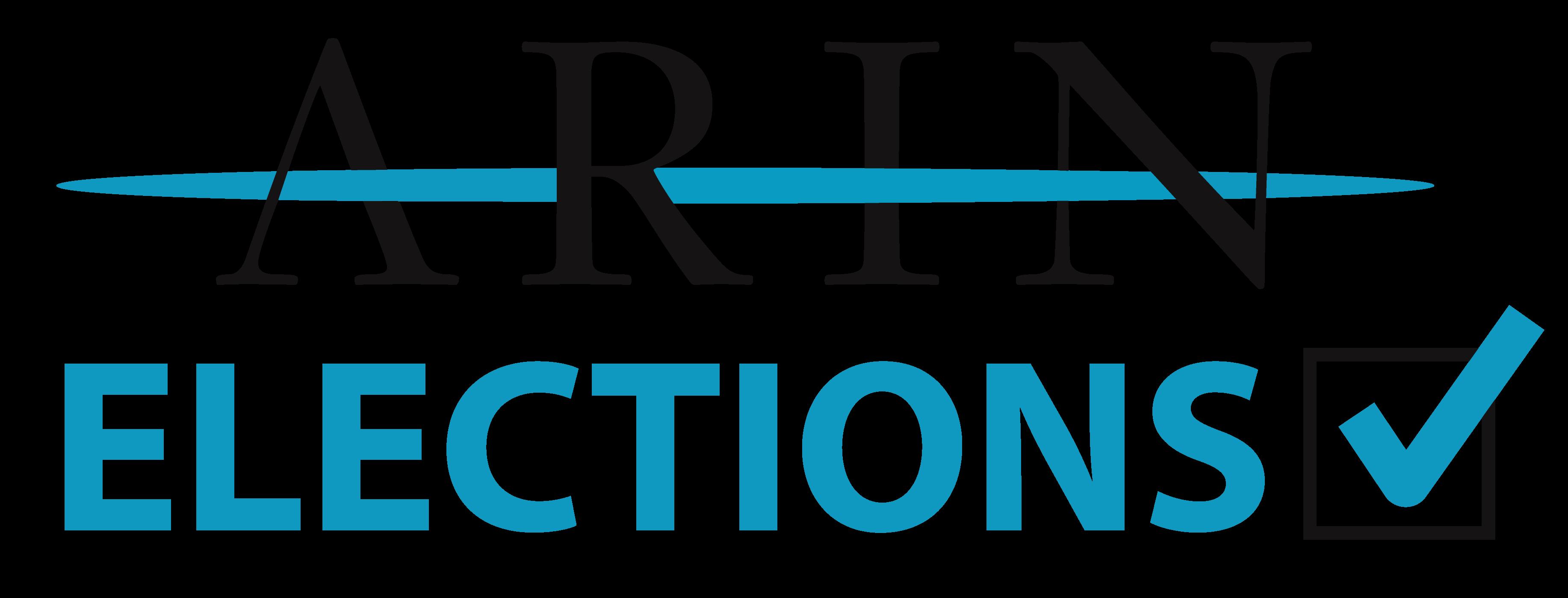 ARIN Elections (logo)