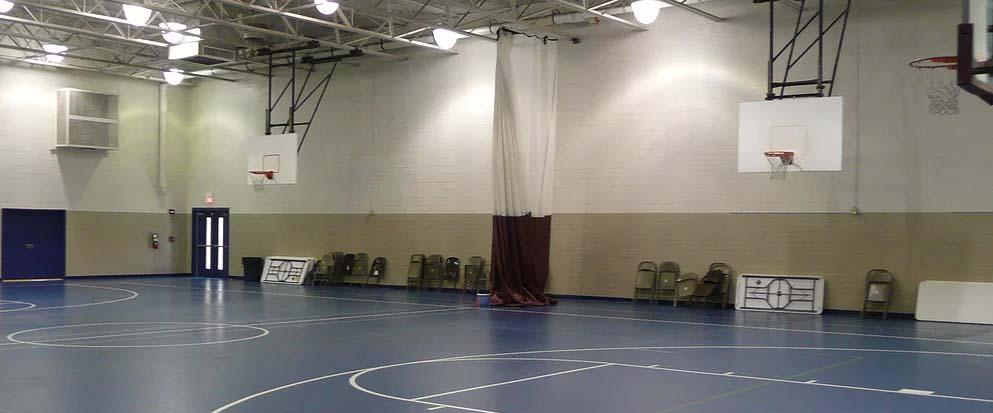 Charles Lind Brown indoor court