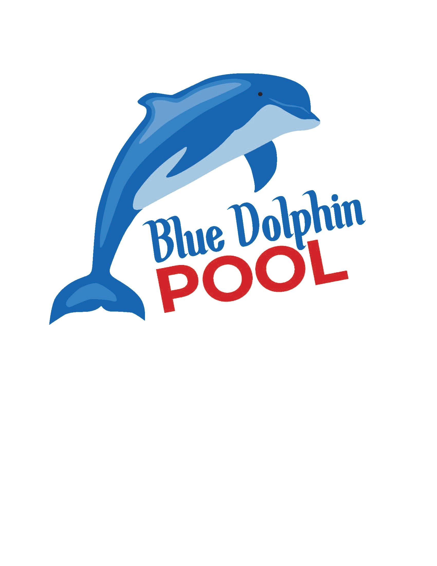 Blue Dolphin Pool Logo