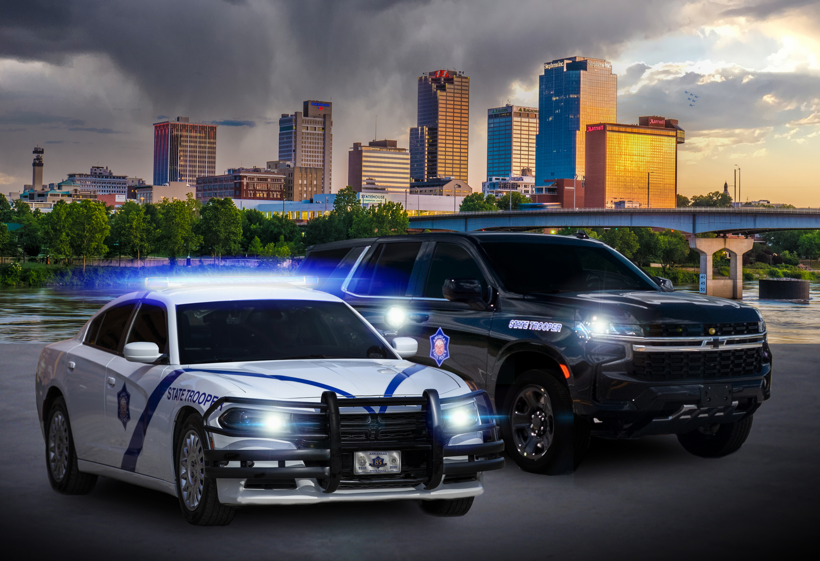 <strong>Arkansas State Police</strong><br><br>