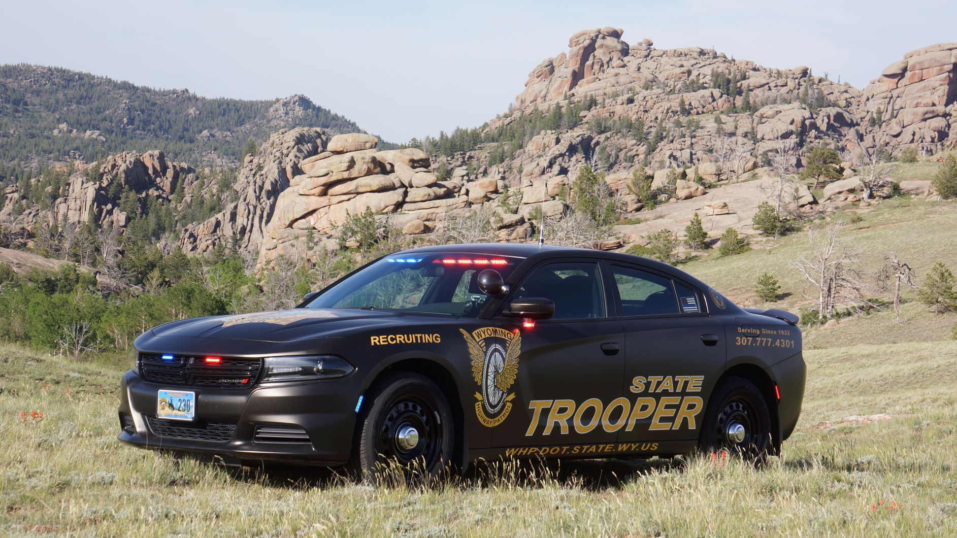 <strong>Wyoming Highway Patrol</strong>