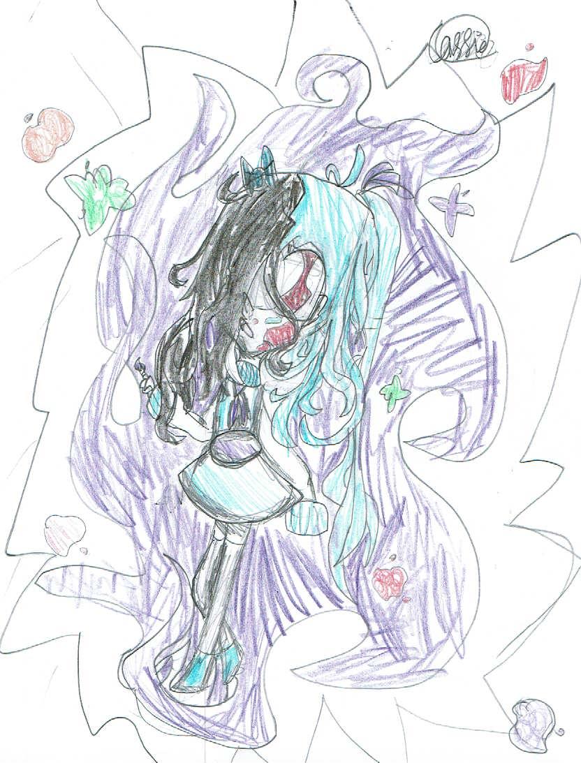 "<br><br>""Paint Everywhere"" by Cassandra M. - 2-D Visual Arts (Intermediate - Grade 3-5)"