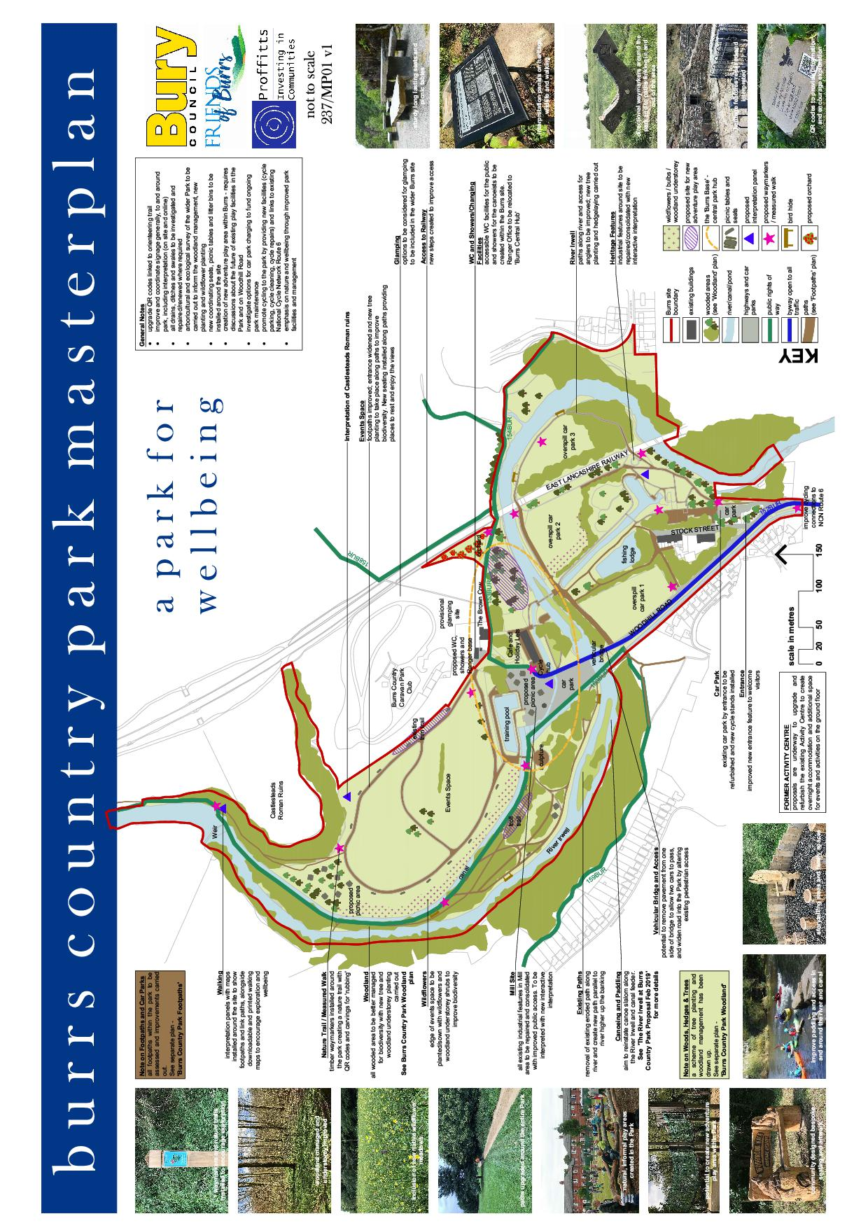 Burrs Country Park Masterplan