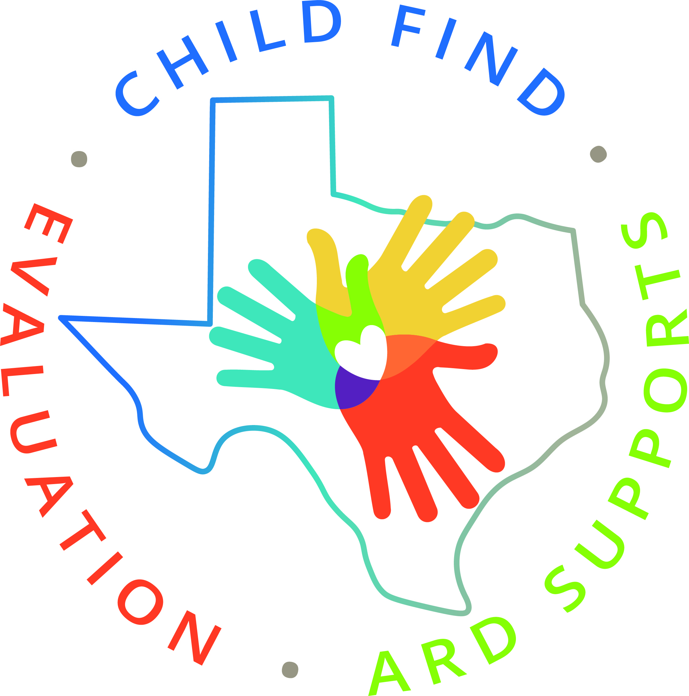 logo for the child find evaluation and ARD support