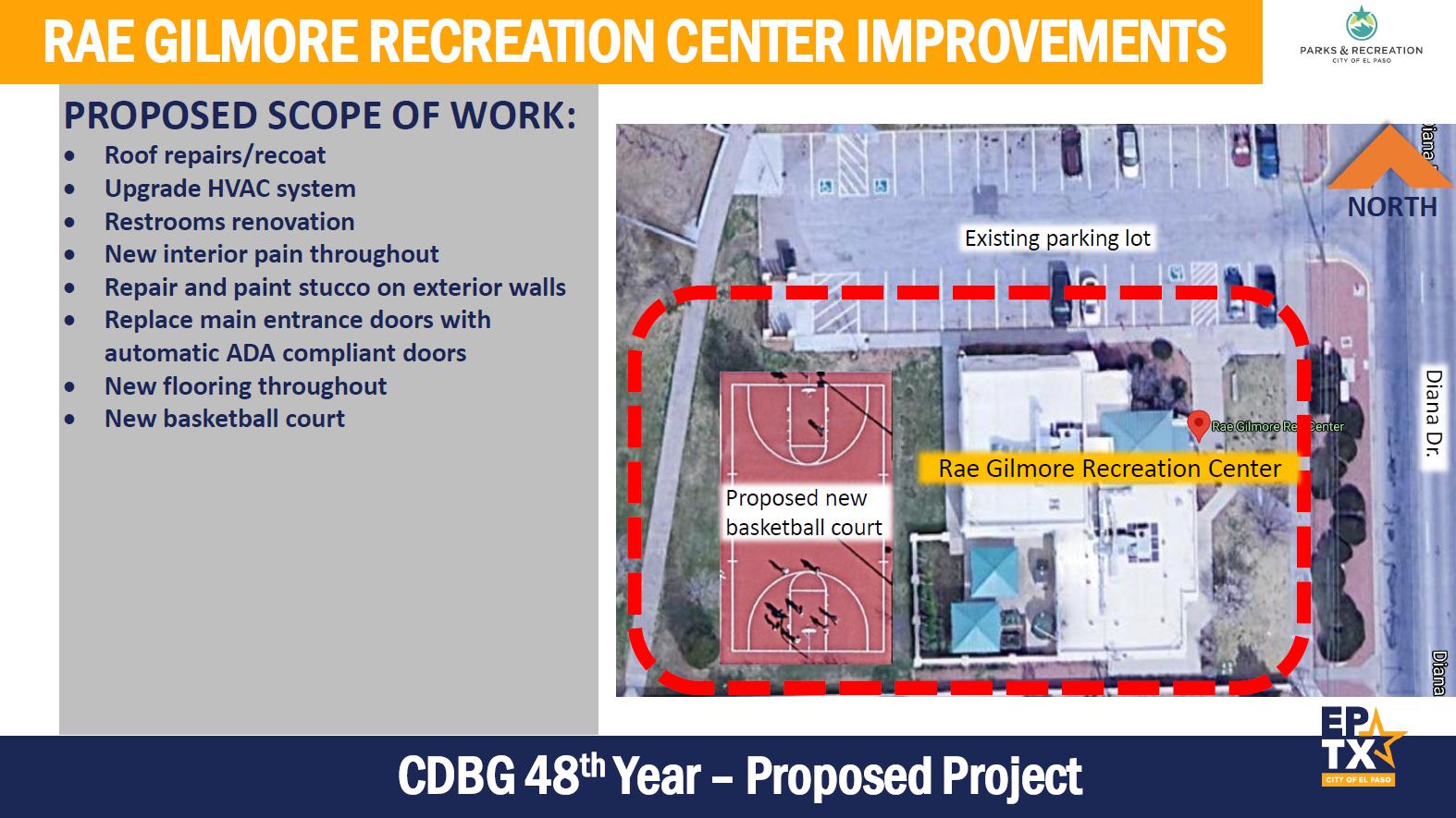 Rae Gilmore Recreation Center Improvements