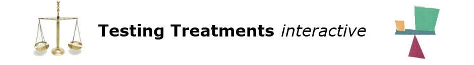 Testing Treatments interactive