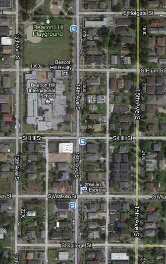 Area of Focus: This is a map showing area between 13th Ave. S. and 16th Ave. S., from S. Bayview to S. Massachusetts. If you live, work or visit the area of focus please take a few minutes to complete this survey. Thank you!