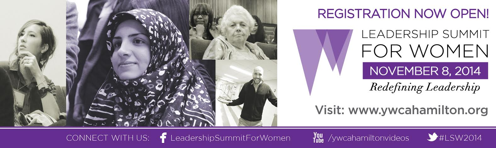 Also, check out the YWCA Leadership Summit for Women!